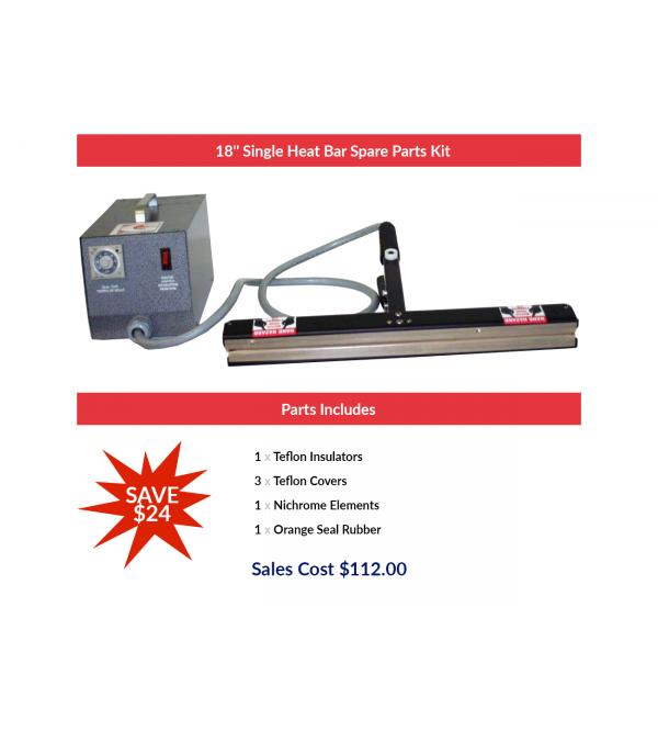 "18"" Single Heat Bar Spare Parts Kit"