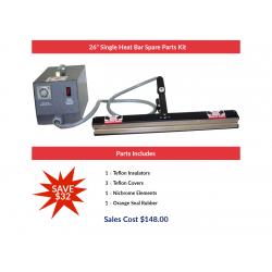 "26"" Single Heat Bar Spare Parts Kit"