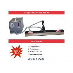 "8"" Single Heat Bar Spare Parts Kit"