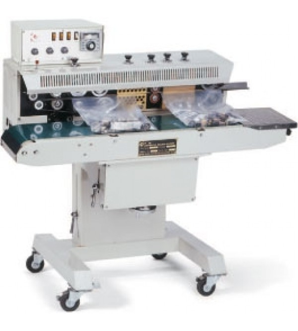 Free standing horizontal band sealer